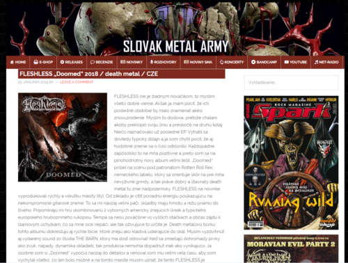 SLOVAK METAL ARMY 25.1 2019